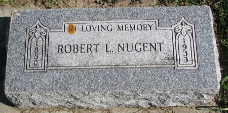 NUGENT, ROBERT L. - Union County, South Dakota | ROBERT L. NUGENT - South Dakota Gravestone Photos