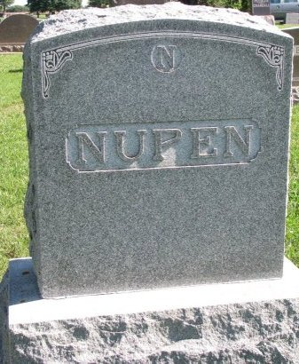 NUPEN, *FAMILY MONUMENT - Union County, South Dakota | *FAMILY MONUMENT NUPEN - South Dakota Gravestone Photos