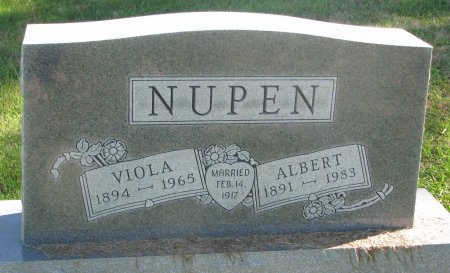 NUPEN, VIOLA - Union County, South Dakota | VIOLA NUPEN - South Dakota Gravestone Photos