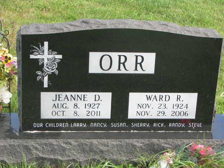 ORR, WARD RICHARD - Union County, South Dakota   WARD RICHARD ORR - South Dakota Gravestone Photos