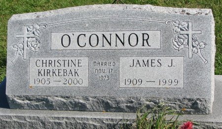 KIRKEBAK O'CONNOR, CHRISTINE  - Union County, South Dakota | CHRISTINE  KIRKEBAK O'CONNOR - South Dakota Gravestone Photos