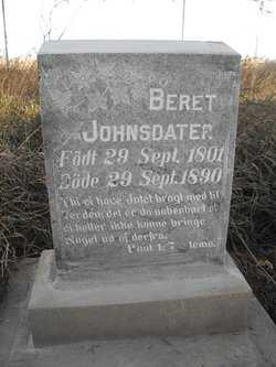 JOHNSDATER OLBUE, BERET - Union County, South Dakota | BERET JOHNSDATER OLBUE - South Dakota Gravestone Photos