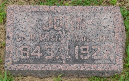 LARSON, JOHN JOHANNES (CIVIL WAR} - Union County, South Dakota   JOHN JOHANNES (CIVIL WAR} LARSON - South Dakota Gravestone Photos