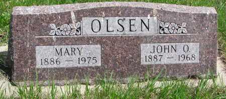 OLSEN, JOHN O. - Union County, South Dakota   JOHN O. OLSEN - South Dakota Gravestone Photos