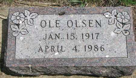 OLSEN, OLE - Union County, South Dakota | OLE OLSEN - South Dakota Gravestone Photos