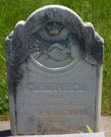 OLSON, N. G. - Union County, South Dakota | N. G. OLSON - South Dakota Gravestone Photos