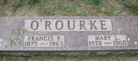 O'ROURKE, FRANCIS P. - Union County, South Dakota | FRANCIS P. O'ROURKE - South Dakota Gravestone Photos