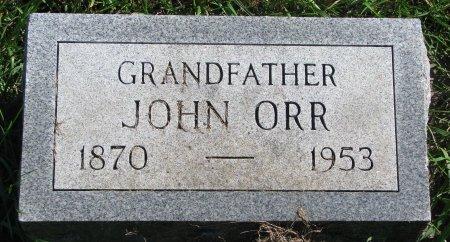 ORR, JOHN - Union County, South Dakota   JOHN ORR - South Dakota Gravestone Photos