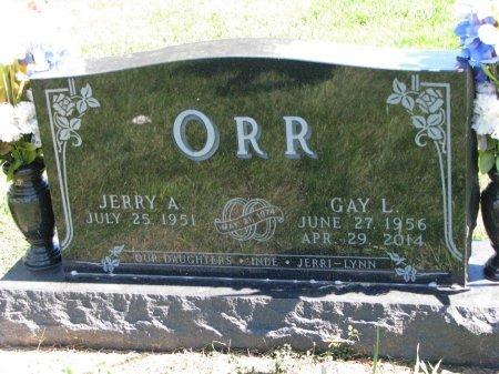 ORR, JERRY A. - Union County, South Dakota | JERRY A. ORR - South Dakota Gravestone Photos