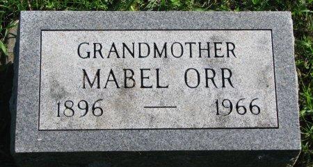 ORR, MABEL - Union County, South Dakota   MABEL ORR - South Dakota Gravestone Photos