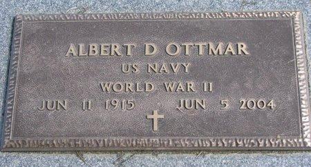 OTTMAR, ALBERT D. - Union County, South Dakota | ALBERT D. OTTMAR - South Dakota Gravestone Photos