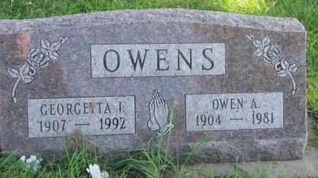 OWENS, OWEN ABRAM - Union County, South Dakota | OWEN ABRAM OWENS - South Dakota Gravestone Photos