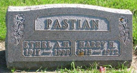 PASTIAN, ETHEL A.H. - Union County, South Dakota | ETHEL A.H. PASTIAN - South Dakota Gravestone Photos