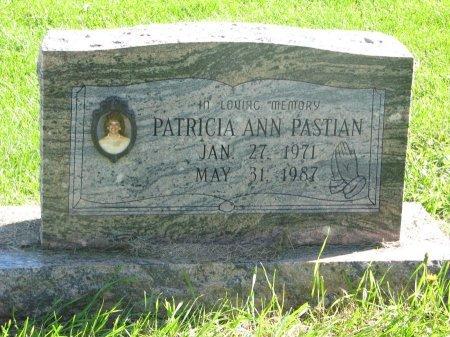 PASTIAN, PATRICIA ANN - Union County, South Dakota | PATRICIA ANN PASTIAN - South Dakota Gravestone Photos