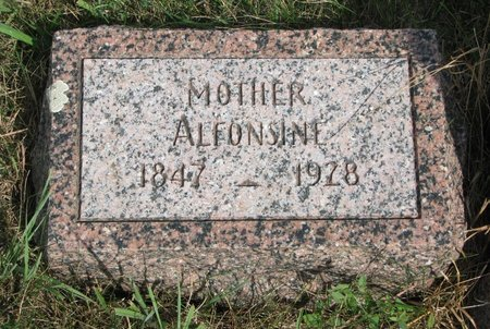 ST ANDRE PATNOE, ALFONSINE - Union County, South Dakota | ALFONSINE ST ANDRE PATNOE - South Dakota Gravestone Photos