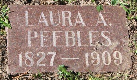 PEEBLES, LAURA A. - Union County, South Dakota | LAURA A. PEEBLES - South Dakota Gravestone Photos