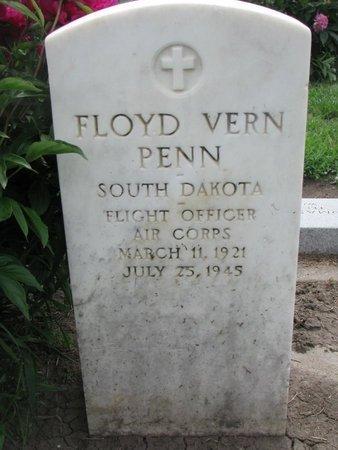 PENN, FLOYD VERN (WORLD WAR II) - Union County, South Dakota | FLOYD VERN (WORLD WAR II) PENN - South Dakota Gravestone Photos