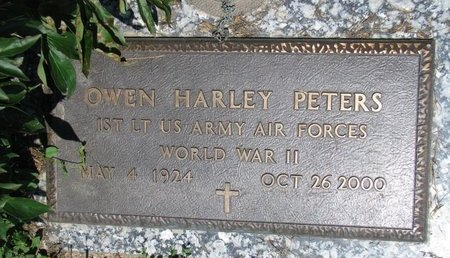 PETERS, OWEN HARLEY (WORLD WAR II) - Union County, South Dakota | OWEN HARLEY (WORLD WAR II) PETERS - South Dakota Gravestone Photos