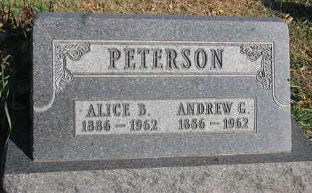 PETERSON, ALICE B. - Union County, South Dakota | ALICE B. PETERSON - South Dakota Gravestone Photos