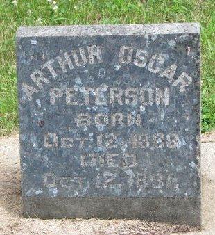 PETERSON, ARTHUR OSCAR - Union County, South Dakota | ARTHUR OSCAR PETERSON - South Dakota Gravestone Photos