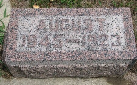 PETERSON, AUGUST - Union County, South Dakota | AUGUST PETERSON - South Dakota Gravestone Photos