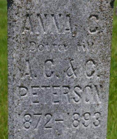 PETERSON, ANNA C. (CLOSE UP) - Union County, South Dakota   ANNA C. (CLOSE UP) PETERSON - South Dakota Gravestone Photos