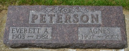 PETERSON, EVERETT ALBERT - Union County, South Dakota | EVERETT ALBERT PETERSON - South Dakota Gravestone Photos