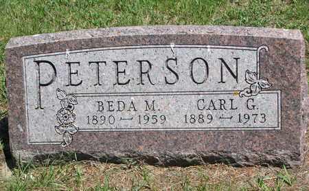PETERSON, BEDA M. - Union County, South Dakota | BEDA M. PETERSON - South Dakota Gravestone Photos