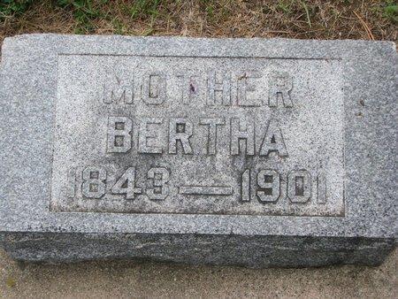PETERSON, BERTHA - Union County, South Dakota   BERTHA PETERSON - South Dakota Gravestone Photos
