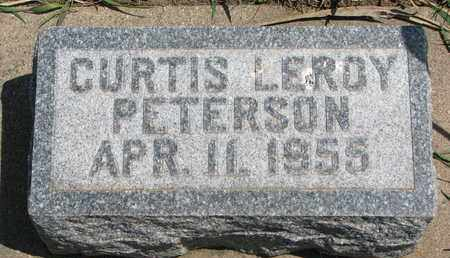 PETERSON, CURTIS LEROY - Union County, South Dakota | CURTIS LEROY PETERSON - South Dakota Gravestone Photos