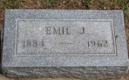 PETERSON, EMIL J. - Union County, South Dakota   EMIL J. PETERSON - South Dakota Gravestone Photos