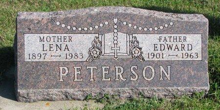 PETERSON, EDWARD - Union County, South Dakota | EDWARD PETERSON - South Dakota Gravestone Photos