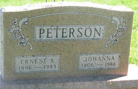 PETERSON, JOHANNA - Union County, South Dakota | JOHANNA PETERSON - South Dakota Gravestone Photos
