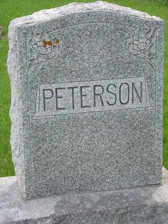 PETERSON, *FAMILY MONUMENT - Union County, South Dakota | *FAMILY MONUMENT PETERSON - South Dakota Gravestone Photos