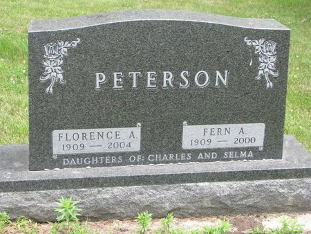 PETERSON, FLORENCE A. - Union County, South Dakota | FLORENCE A. PETERSON - South Dakota Gravestone Photos