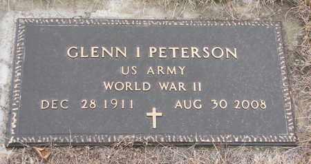 PETERSON, GLENN IVAN (WORLD WAR II) - Union County, South Dakota | GLENN IVAN (WORLD WAR II) PETERSON - South Dakota Gravestone Photos