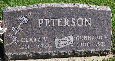 BRIGGLE PETERSON, CLARA VIOLET - Union County, South Dakota   CLARA VIOLET BRIGGLE PETERSON - South Dakota Gravestone Photos