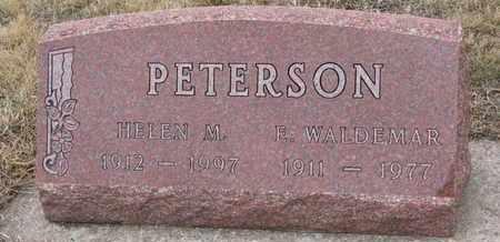 PETERSON, HELEN M. - Union County, South Dakota | HELEN M. PETERSON - South Dakota Gravestone Photos