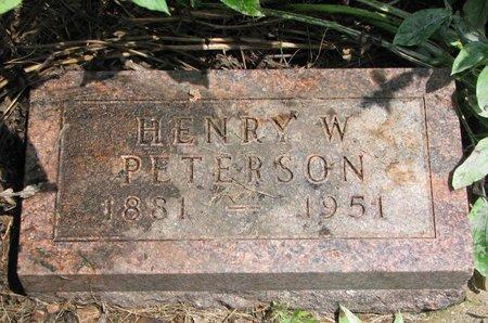 PETERSON, HENRY W. - Union County, South Dakota | HENRY W. PETERSON - South Dakota Gravestone Photos