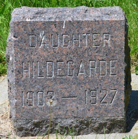 PETERSON, HILDEGARDE - Union County, South Dakota | HILDEGARDE PETERSON - South Dakota Gravestone Photos