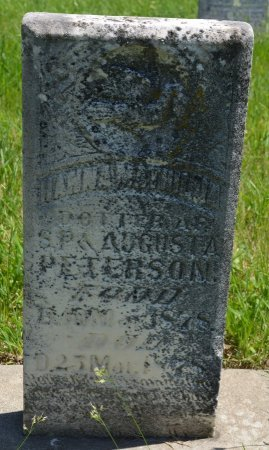 PETERSON, HANNAH MATHILDA - Union County, South Dakota   HANNAH MATHILDA PETERSON - South Dakota Gravestone Photos