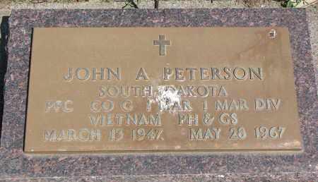 PETERSON, JOHN A. (VIETNAM) - Union County, South Dakota | JOHN A. (VIETNAM) PETERSON - South Dakota Gravestone Photos