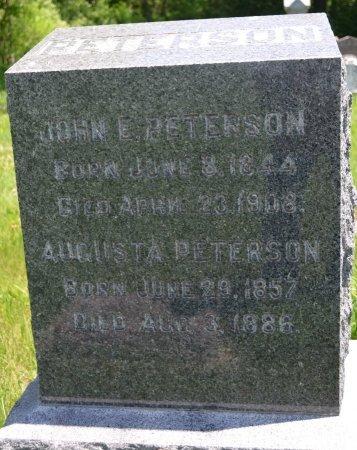 PETERSON, AUGUSTA - Union County, South Dakota   AUGUSTA PETERSON - South Dakota Gravestone Photos