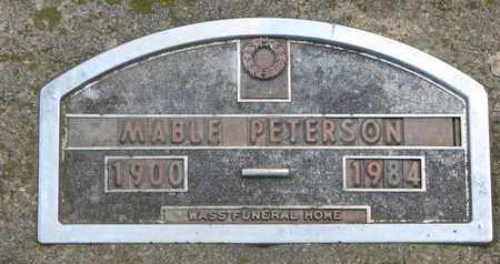 PETERSON, MABLE - Union County, South Dakota | MABLE PETERSON - South Dakota Gravestone Photos