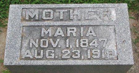 PETERSON, MARIA - Union County, South Dakota   MARIA PETERSON - South Dakota Gravestone Photos
