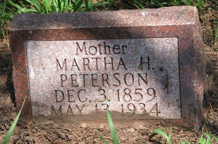 PETERSON, MARTHA H. - Union County, South Dakota | MARTHA H. PETERSON - South Dakota Gravestone Photos