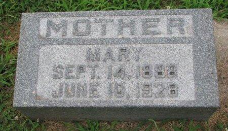 PETERSON, MARY - Union County, South Dakota   MARY PETERSON - South Dakota Gravestone Photos
