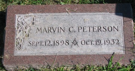 PETERSON, MARVIN C. - Union County, South Dakota | MARVIN C. PETERSON - South Dakota Gravestone Photos