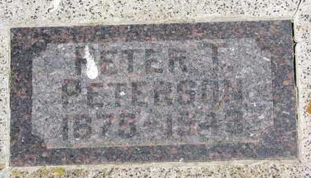 PETERSON, PETER T. - Union County, South Dakota | PETER T. PETERSON - South Dakota Gravestone Photos