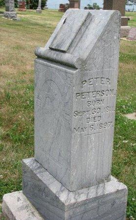 PETERSON, PETER - Union County, South Dakota | PETER PETERSON - South Dakota Gravestone Photos